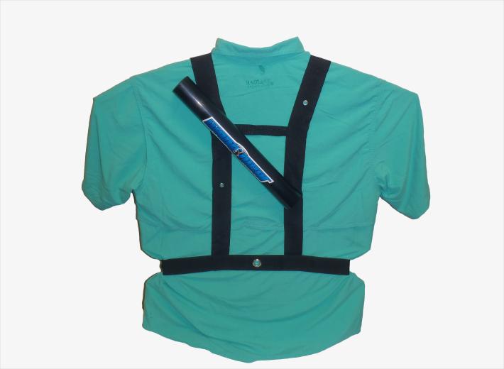 Wade right fishing belt for Wade fishing gear